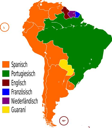 Filelanguages Of South America Desvg Wikimedia Commons