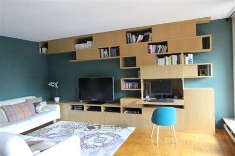 bibliothèque bureau intégré bibliothèque avec bureau intégré