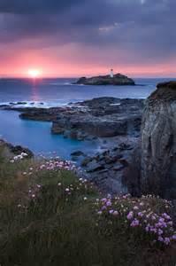 Godrevy Lighthouse Cornwall UK