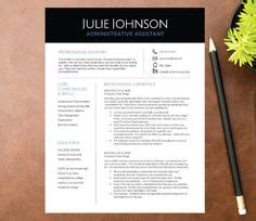 creative resume template for word and pages 1 2 3 page
