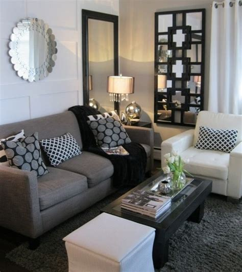 amazing black white and gray living room the best part