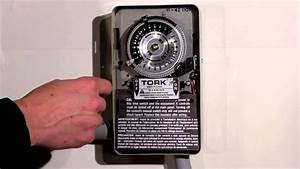 Tork 1100 Series Time Switch Operation