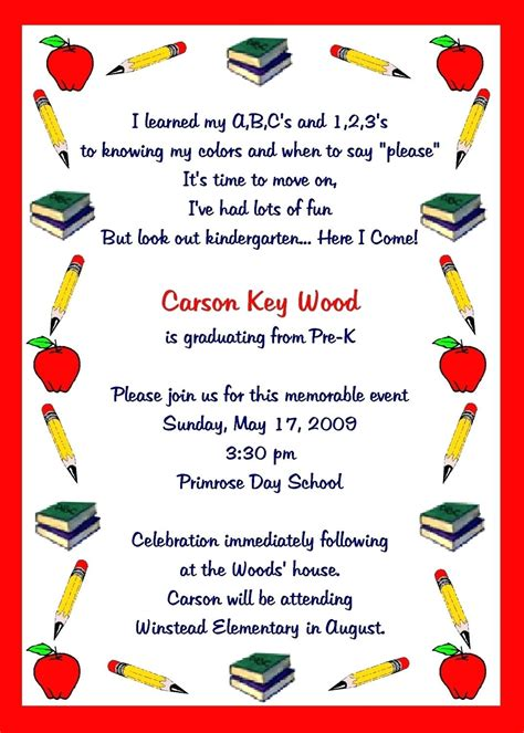 free preschool programs template kindergarten graduation program template 969