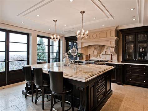 Dark Cabinets In #kitchen