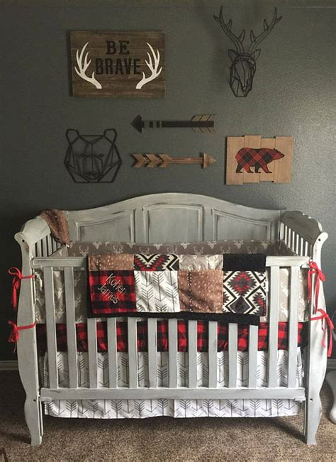 ideas   woodland hunting themed nursery