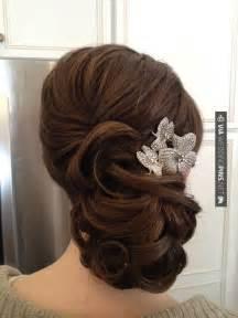 25 best ideas about hair pulled back on prom hairstyles wedding hairstyles - Frisuren Zur Hochzeit