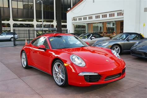 2013 Porsche 911 Carrera 4s Guards Red 991 Coupe 7 Speed I