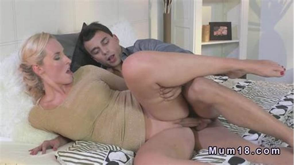 #Hot #Blonde #Milf #Is #Doing #Bj #And #Getting #Hard #Dick