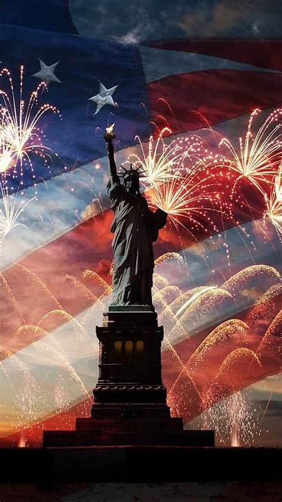 Liberty Statue Phone July Wallpapers Cellphone Iphone