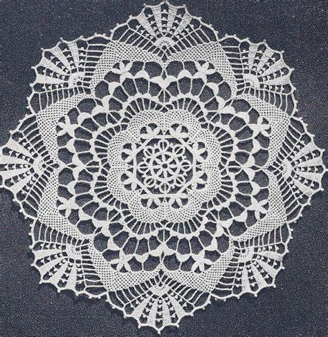 doily patterns vintage crochet pattern to make cluny lace doily centerpiece mat clunyclassic ebay