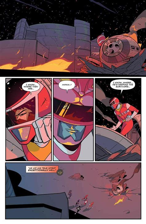 Power Rangers: Andros Brings Hope In Mighty Morphin #29