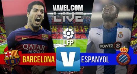 Enjoy the whole league game between FC Barcelona and Espanyol