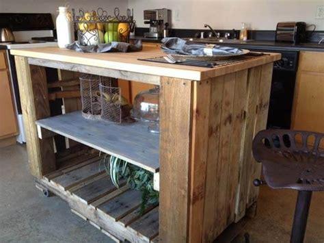 pallet kitchen island 23 unique diy pallet furniture ideas that will inspire you 1406