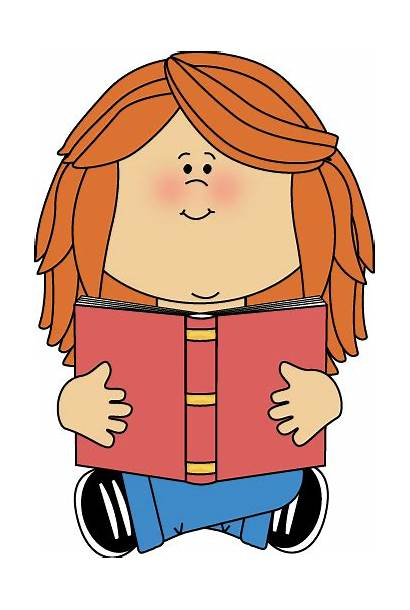 Reading Clipart Child Cliparts Sitting Clip Attribution