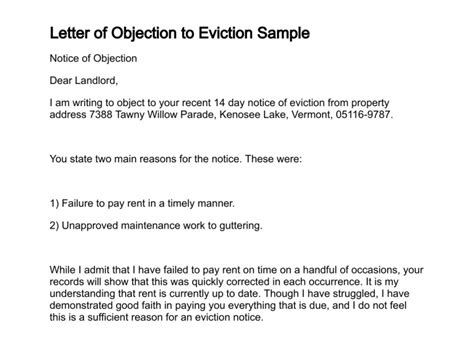 write  objection letters writerstablewebfccom