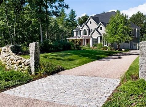 country driveway gravel driveway south berwick me photo gallery landscaping network