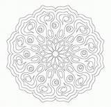 Coloring Flower Mandala Complex Complicated Printable Pintar Lotus Mandalas Flowers Adult Faciles Colour Guardado Comments Popular Painting Coloringhome Template Uploaded sketch template