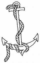 Anchor Coloring Pages Printable Navy Drawing Ship Rope Template Getdrawings Drawings Popular Sailor Tattoo Clipartmag Coloringhome sketch template
