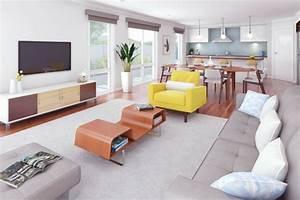 1001 conseils et idees pour une cuisine ouverte sur le salon With meuble salle À manger avec fauteuil cuisine design