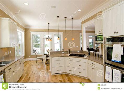 Beautiful Kitchen Stock Image Image Of Door, Maple
