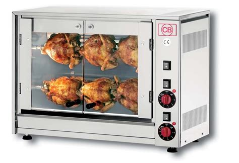 commercial convection oven electric chicken rotisserie cb e6p electric rotisserie