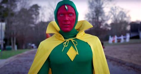 WandaVision : pourquoi le costume original de Vision ...