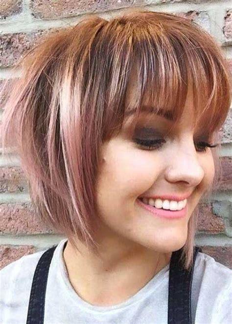 amazing short hairstyles  bangs  styles art