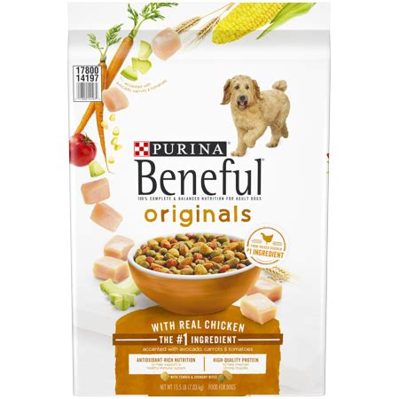 purina beneful dry dog food originals  real chicken