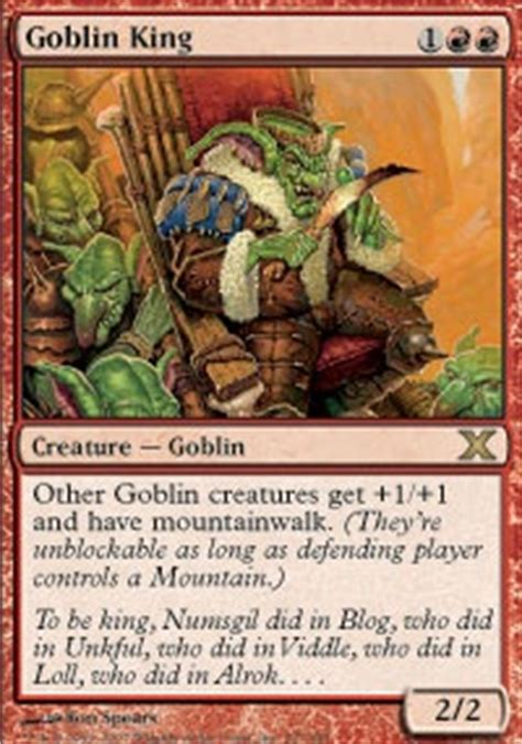 Mtg Goblin Charbelcher Deck by Fast Goblins Are Fast Pauper Legacy Mtg Deck