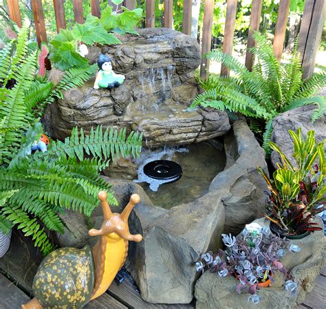 Backyard Pond Kits by Small Patio Pond Backyard Waterfall Kits Water Features
