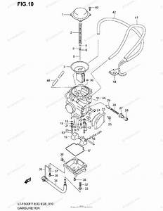Suzuki Atv 1999 Oem Parts Diagram For Carburetor