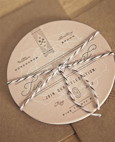 A Showcase of Creative Wedding Invitations Designbolts