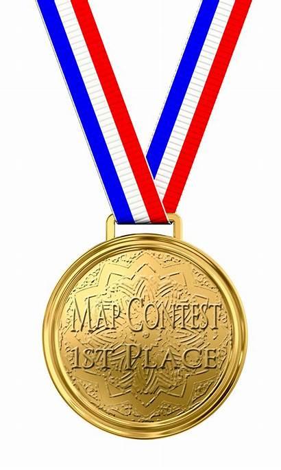 Medal Gold Transparent Place 1st Clipart Award