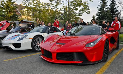 Feel free to update this time instead of your estimation of 16 secs @ 170 mph LaFerrari, 918 Spyder Weissach and More at Calgary Euro Cars & Coffee! - GTspirit