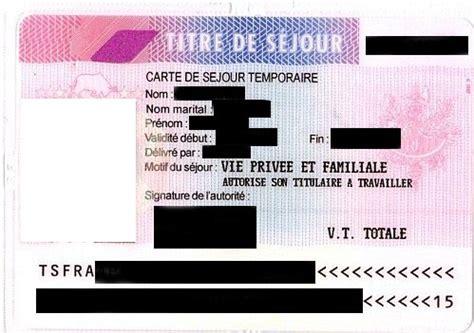 carte de sejour mariage franco algerien carte de sejour mariage etranger the best cart