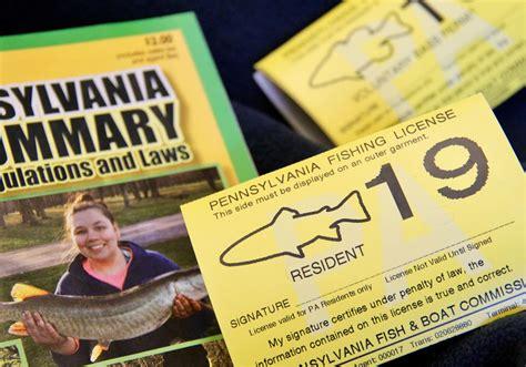 license fishing pennsylvania pa fish boat licenses commission hunting pfbc gov website government harrisburg announced