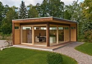 Gartenhaus Mit Glasfront : gartenhaus aus holz metall als modulhaus oder zum selberbauen sch ner wohnen ~ Sanjose-hotels-ca.com Haus und Dekorationen
