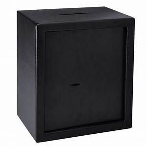 04cf slot safe depository drop cash coin cabinet gun box With lock box with slot for documents