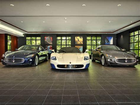 Ever Wondered Where Billionaires Park Their Supercars