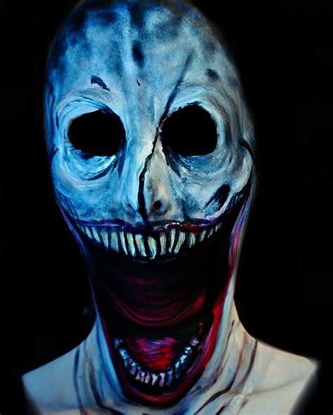 makeup artist paints creepy masks   blow  mind