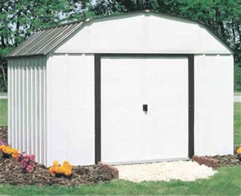Metal Storage Shed Kits by Concord 10 W X 14 D Arrow Metal Backyard Storage Shed Kit