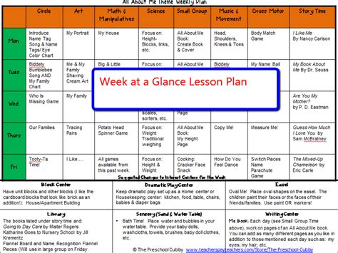 all about me theme resource packet 281 | Weeklyplan