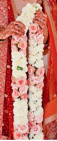 indian wedding garland fuchsia india garland wedding