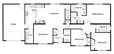 3 bed 2 bath floor plans 3 bedroom 2 bath open modular floor plan created and designed by our customer for a