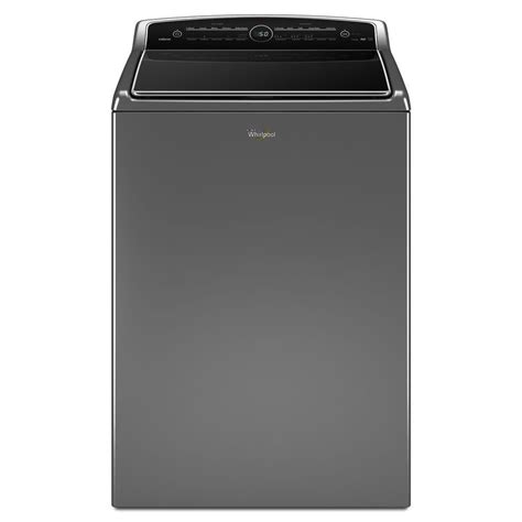 cabrio washer shop whirlpool 5 3 cu ft high efficiency top load washer chrome shadow energy star at lowes com