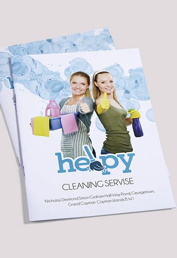 Cleaning Services Bi Fold Template By Elegantflyer Tri Fold Brochure Templates Free By Elegantflyer