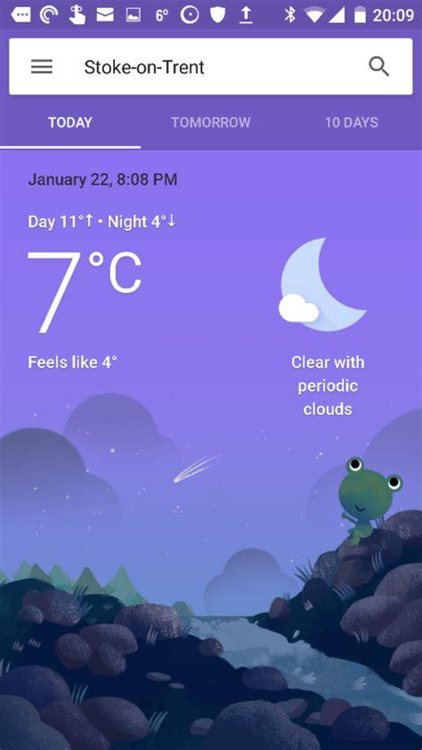 google updates weather app coolsmartphone