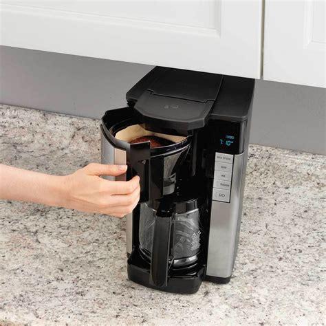 How does the hamilton beach brewstation work? Hamilton Beach Digital 12 Cup Programmable Coffee Maker, Black/Stainless Steel | Walmart Canada