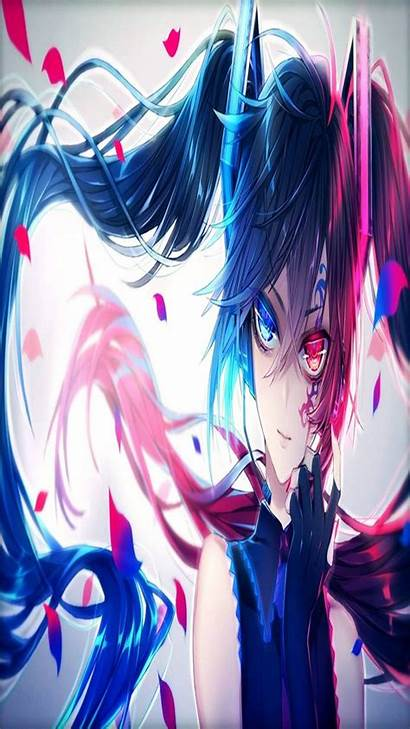 Bluered Animecore Nightcore