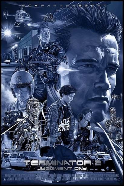 Terminator Poster Judgment Posters Ruiz Burgos Alternative